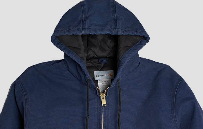 Dark blue Carhartt jacket